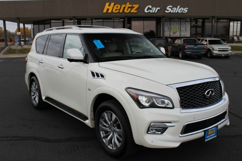 2015 infiniti qx80 v8 hertz used car sales idaho falls. Black Bedroom Furniture Sets. Home Design Ideas
